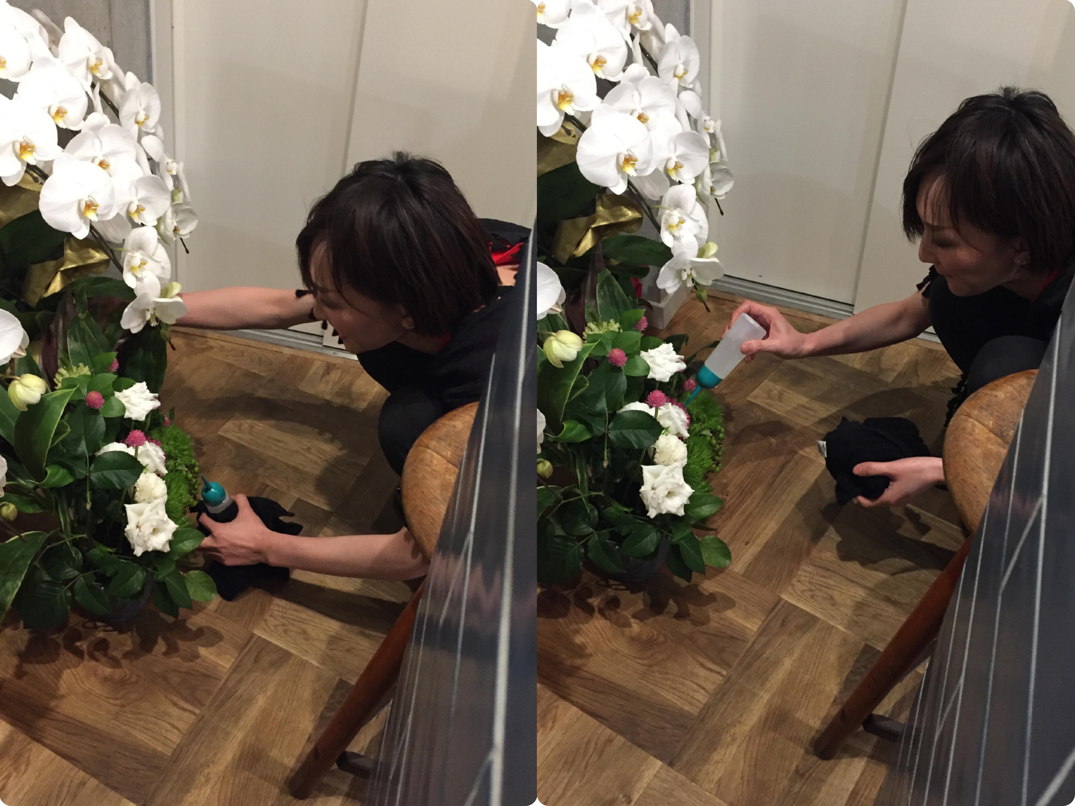 お花は癒し~