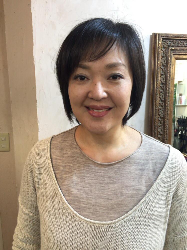 ミセス大人のヘアカタログ★ショートボブ vol.36