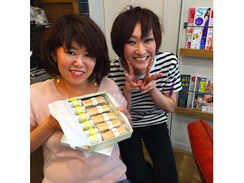 お菓子いただきましたー(^^)