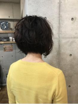ミセス変身ヘアカタログ★ 前下がりボブ  vol.80